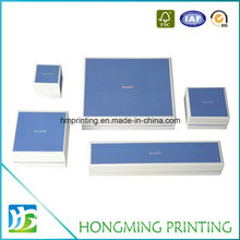 Luxury Set Paper jewelry Gift Box with Foam Insert