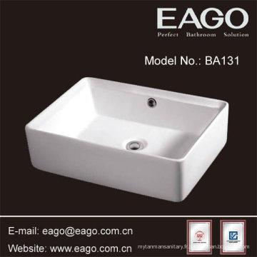 EAGO Cuvette de salle de bain en céramique