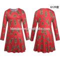 2017 neue Design Mode Damen Weihnachten Kleidung Alltäglichen Kleid Frauen Casual