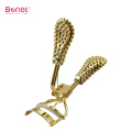 Eyelash Curler Gold Brilliant Handle para mujer