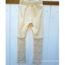 2015 Neue Kinder Kleidung Kinder Knited und Lace Strumpfhosen