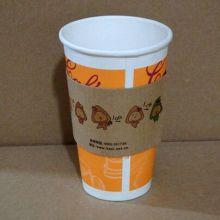 8oz / 12oz / 16oz Изолированная бумажная чашка для горячего кофе Упаковка