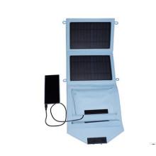 Freies Logo 7W Solar Mobile Ladegerät