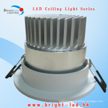 COB LED Ceiling Down Light with CE RoHS & 3-Year Warranty