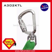 A302KTL Mouser de bloqueio de torção de alumínio médio