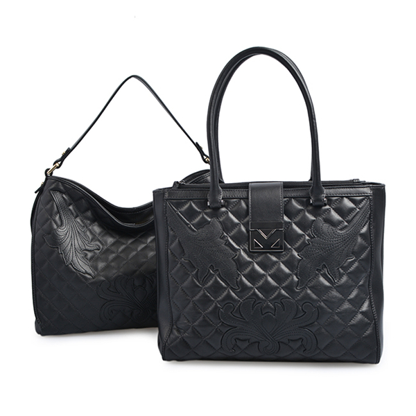 Popular Western Style Ladies PU Leather Shoulder Bag Women Tote Hand bag