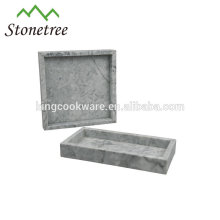 Heißer Verkaufs-Qualitäts-Marmor-Serviertablett