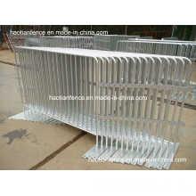 Barrières de contrôle de la fougue galvanisée au chaud