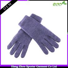 16FZCG02 fashionable knitting glove echo-friendly 100 cashmere glove