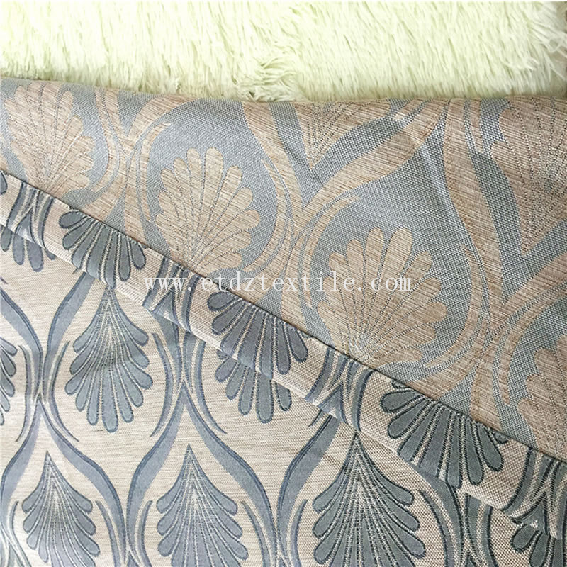 WZQ172 Grey Trends Popular Linen Style of Curtains