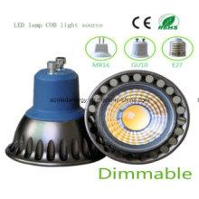 Alta Qiality Dimmable 3W COB LED de luz