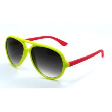 Gafas de sol de los niños de la manera de la calidad con el capítulo colorido