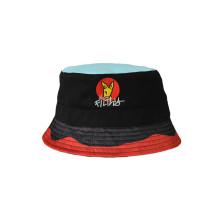 Мода карнавал мультфильм стиль ведро шляпы с вышивкой (U0024)