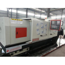 High precision CNC flat bed lathe