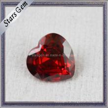 AA Brilhante Coração Forma Zircon Gemstones