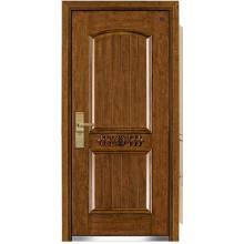 Роскошные Стали Деревянные Бронированная Дверь