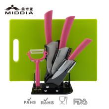 6PCS Juego de cuchillos de cocina, utensilios de cocina / herramienta de cocina
