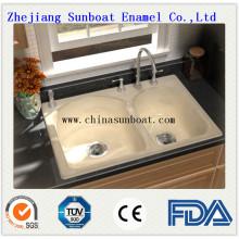 Emaille Kohlenstoffstahl Küche / Waschbecken
