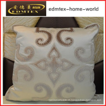 Bordados decorativos almofada de veludo de moda travesseiro (edm0293)