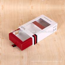 Изготовленный на заказ ящик стиль коробка подарка картона дух с окном PVC