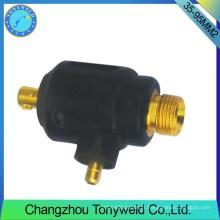 35-95mm2 torção de soldagem macho TIG adptor de cabo traseiro