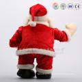 custom santa claus plush doll