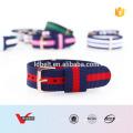 HOT SALE strips cor alças de nylon pulseira