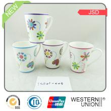 Ec-Friendly V Form Keramik Kaffeetasse für Werbegeschenk