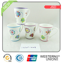 Ec-Friendly V taza de café de cerámica de la forma para el regalo promocional
