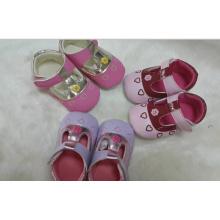 Novo Design respirável bebê sapatos de algodão infantil sapatos (BH-6)