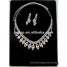 Latest bridal wedding jewelry set (GWJ12-514)