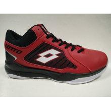 Men′s Best Quality Brand Shoes Red Baskteball Shoes Lt4178bm