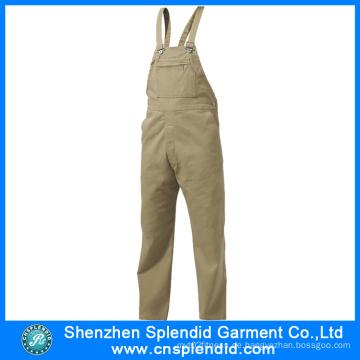 China Manufacture europäischen hochwertigen Männer Bau Arbeitskleidung Overalls