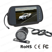 7inch Reverse Mirror Monitor System with Car Mini Camera