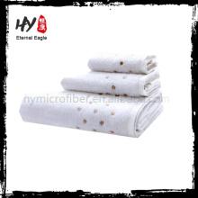 Высокое качество декоративные хлопок ванна полотенца комплект с высокое качество