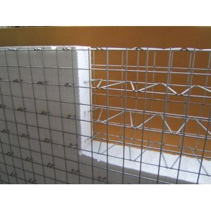EPS 3D welded wire mesh panel