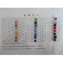 Polímero argila cor gráfico Daking joias