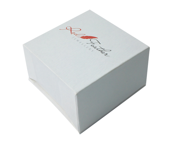 Customized Logo Top and bottom Box For Jewelry