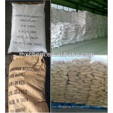 Grado alimenticio de bicarbonato de sodio