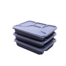 Einweg-Plastikbox zum Mitnehmen