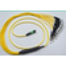 Телекоммуникационный уровень 900um / 2.0mm / 3.0mm FC mpo 12 жил оптоволоконный пигтейл с лучшей ценой