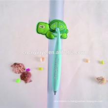 Недорогие металлические ПВХ черепаха надувные шариковая ручка