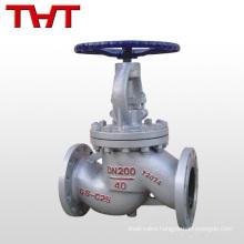 gost carbon steel flange connected regulating globe valve pn16