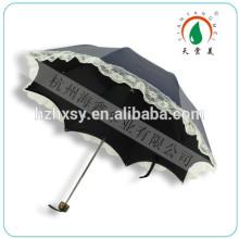 3 dobradura cúpula forma personalizada impressão guarda-chuva para meninas