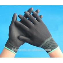 13 gauge nylon gloves coated with pu palm