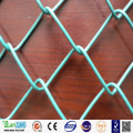 Chain link fence fencing panels PVC coated galvanized