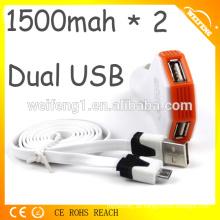 Notfall-USB-Ladegerät für Handy-Auto-Ladegerät