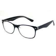 Color Square Woman Plastic Optical Frame (CP007)