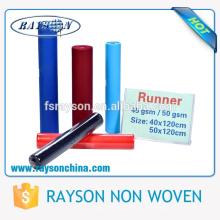 Foshan Ruixin Eco-Friendly polipropileno Nonwoven mantel Roll
