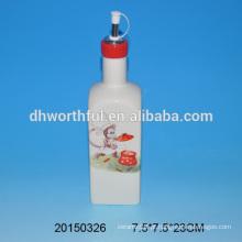 Atacado garrafa de óleo de cerâmica com design de macaco em qualidade superior